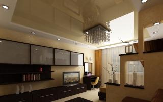 Дизайн кухни-гостиной площадью 19-20 кв. м (73 фото): планировка совмещенных помещений
