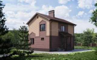 Двухэтажный дом с гаражом (59 фото): небольшой 2-х этажный кирпичный дом с одной крышей с гаражом на две машины