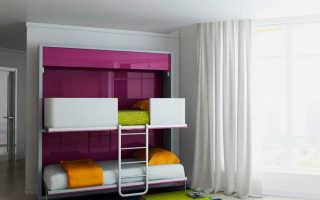 Детская двухъярусная кровать-трансформер (58 фото): для двоих детей
