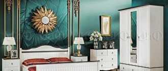 Модульная мебель для спальни в современном стиле