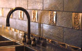 Дизайн плитки на кухне (98 фото): создание декора на стене