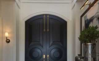 Входные двухстворчатые двери (24 фото): двойные модели в частный дом, двустворчатые варианты для квартиры