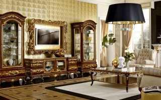 Итальянская мебель для гостиной: что подойдет для оформлении комнаты – «классика» или «модерн», меблировка в классическом или современном стиле