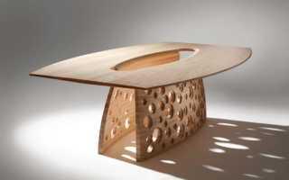 Деревянные ножки для стола: красивые резные ножки из дерева, оригинальные конические модели