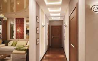 Освещение в коридоре: 10 фото