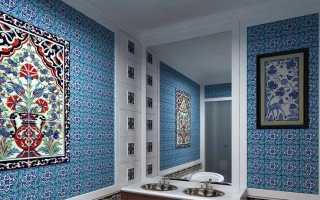 Плитка в восточном стиле ( 39 фото): коллекция керамической плитки с арабским орнаментом
