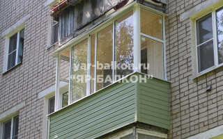 Остекление балконов в хрущевке (51 фото): виды с выносом и крышей