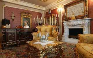 Мебель в стиле барокко: 15 фото
