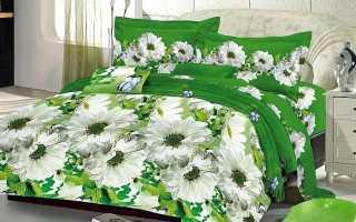 Покрывало Amore Mio: розовая с зеленым модель размером 200х220 см
