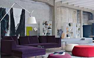 Диван «лофт» (60 фото): диван из кожи в интерьере, на каждый день для сна, Estetica, «Ладья»