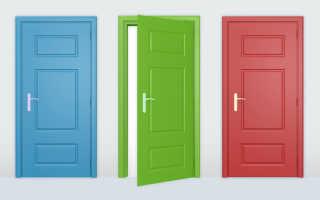 Двери из МДФ (36 фото): что это такое, белые межкомнатные крашеные двери цвета венге, отделка эмалью, отзывы
