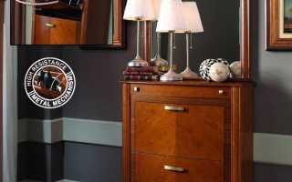 Шкафы в классическом стиле (47 фото): зеркальный шкаф в прихожую
