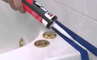Силиконовый сантехнический герметик: применение для ремонтных работ, технические характеристики герметиков для труб канализации, состав «Момент»