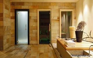 Стеклянные двери для бани (41 фото): модели из матового стекла, размеры дверной коробки, отзывы