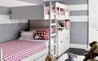 Кровати для двоих детей (75 фото): детские двуспальные и двойные откидные кроватки для разного возраста