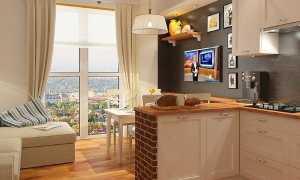 Дизайн кухни-гостиной площадью 15 квадратных метров (53 фото): интерьер гостиной