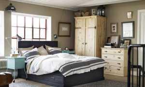 Спальни Ikea (64 фото): дизайн интерьера в стиле «Икеа»