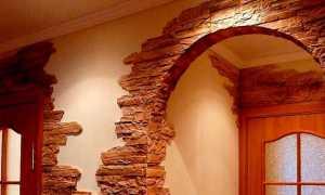 Оформление дверного проема (55 фото): отделка после установки железной модели, обрамление декоративным камнем