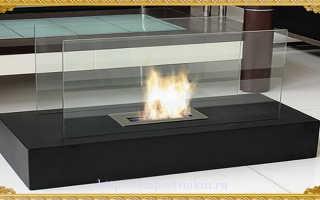 Камин без дымохода (76 фото): что такое биокамин, встроенный в стену, как его сделать и чертеж
