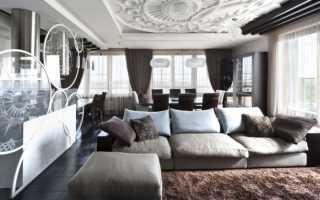 Гостиная с рабочим местом (57 фото): выделение зоны кабинета, правильное зонирование одной комнаты