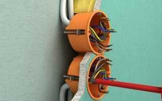 Прокладка кабеля в гипсокартоне: проводка под гипсокартоном