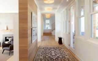 Ковровые дорожки в прихожую (50 фото): рогожки на резиновой основе в интерьере коридора