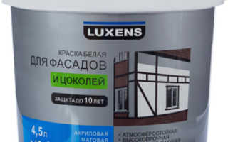 Фасадная краска для наружных работ по дереву: лучшая продукция для деревянных фасадов и дома, отзывы и расход на 1м2