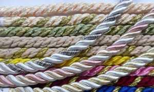 Декоративный шнур для натяжных потолков (22 фото): как выбрать потолочный канат для окантовки