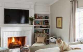 Камин в спальне (35 фото): дизайн декоративного камина в интерьере в стиле прованс