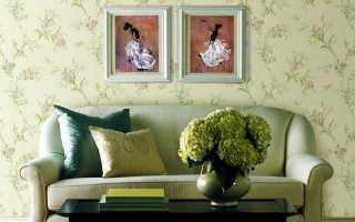 Зеленые обои (64 фото): какие модели подойдут для стен в интерьере спальни
