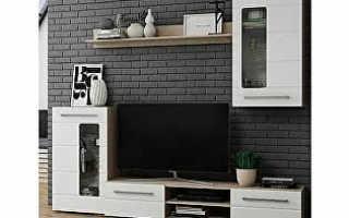 Модульные стенки (49 фото): мебель с компьютерным столом, современные «горки»