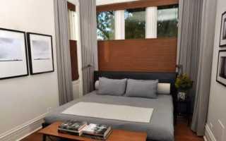 Дизайн маленькой спальни 6 кв. м. (51 фото): оформление интерьера комнаты 2х3 метра