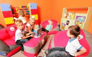 Мягкое детское кресло в виде игрушки: игровые бескаркасные модели для детей в форме животного