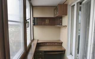 Кабинет на балконе (58 фото): как сделать рабочее место и стол на лоджии, идеи для зон