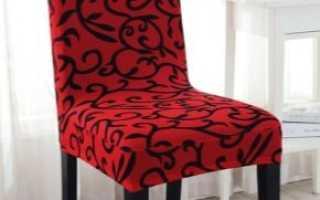 Чехлы на стулья от Ikea: особенности материалов и цветовые решения