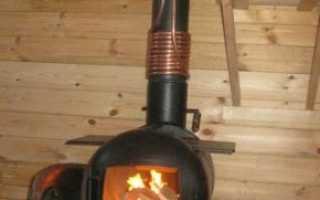 Печь для гаража из газового баллона: как сделать печку для отопления своими руками из двух баллонов