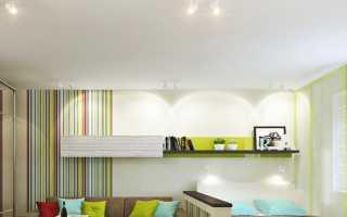 Кровать в гостиной: дизайн интерьера ( 43 фото), идеи оформления зала площадью 18 кв. метров с диваном-трансформером вместо кровати