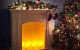 Декоративный камин (72 фото): самодельный новогодний из пенопласта для дома, флеш чертежи, огонь и как оформить
