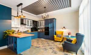 Точечные светильники на кухне (75 фото): расположение и размещение света