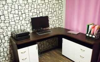 Компьютерный стол с тумбой: столики для компьютера и телевизора с выкатной и выдвижной тумбочкой