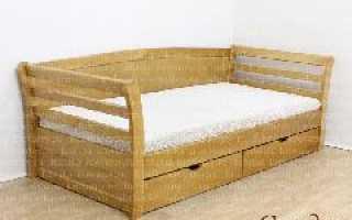 Детская кровать-тахта: модель для ребенка с мягкой спинкой