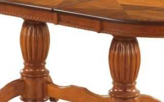Овальные раскладные столы (16 фото): преимущества деревянных полуовальных складных моделей
