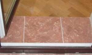 Как сделать порог у входной двери (26 фото): рекомендации по установке и отделке дверного порога у межкомнатных металлических алюминиевых дверей