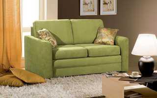 Раскладные диваны (49 фото): двухместный и маленький кожаный мини диван