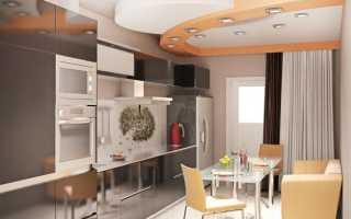 Кухня 10 кв. метров с диваном (53 фото): дизайн интерьера и планировка