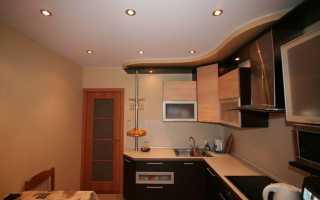 Натяжные потолки на кухню (92 фото): советы по уходу