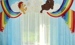 Ламбрекены в детскую (53 фото): в комнату для девочек и мальчиков-подростков, шторы своими руками из тюли