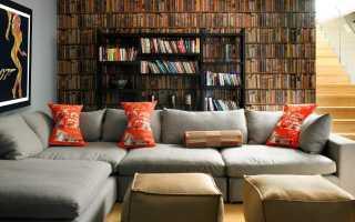 Угловой диван в интерьере (20 фото): как поставить в комнату, в зал и у окна