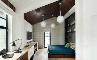 Кабинет-спальня (70 фото): дизайн спальной комнаты с рабочим местом