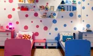 Обои в детскую для разнополых детей (50 фото): для мальчика и девочки в одной комнате